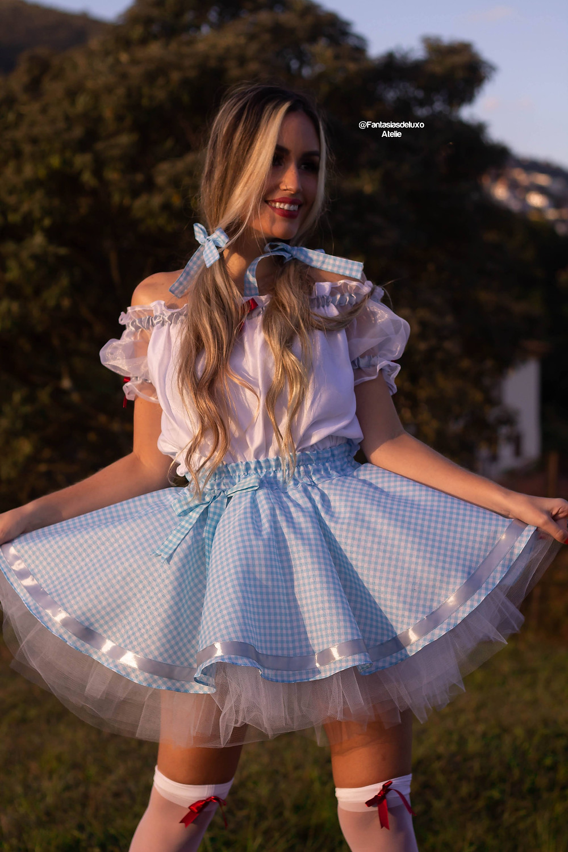 vestido junino - vestido caipira - vestido de quadrilha - saia de festa junina - look junino