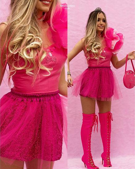 fantasia da barbie - roupas da barbie - festa da barbie - barbie humana - barbie lovers