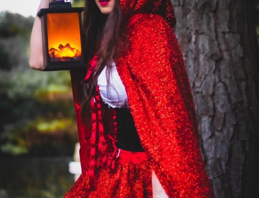 Chapeuzinho Vermelho (super luxo) capa brilho