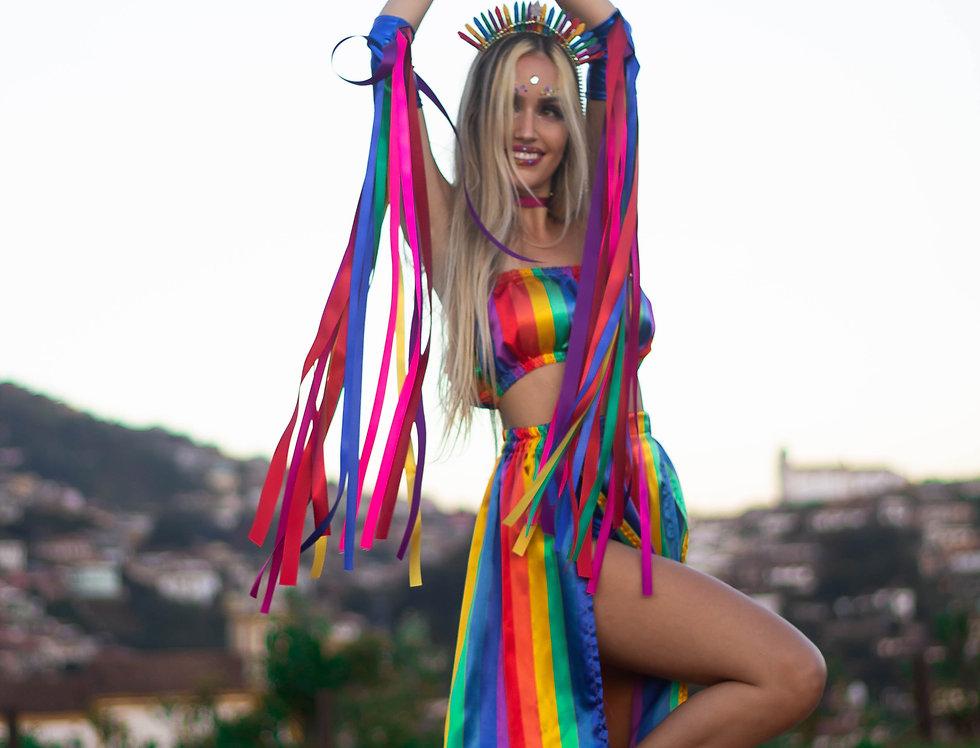 Fantasia Deusa Rainbow