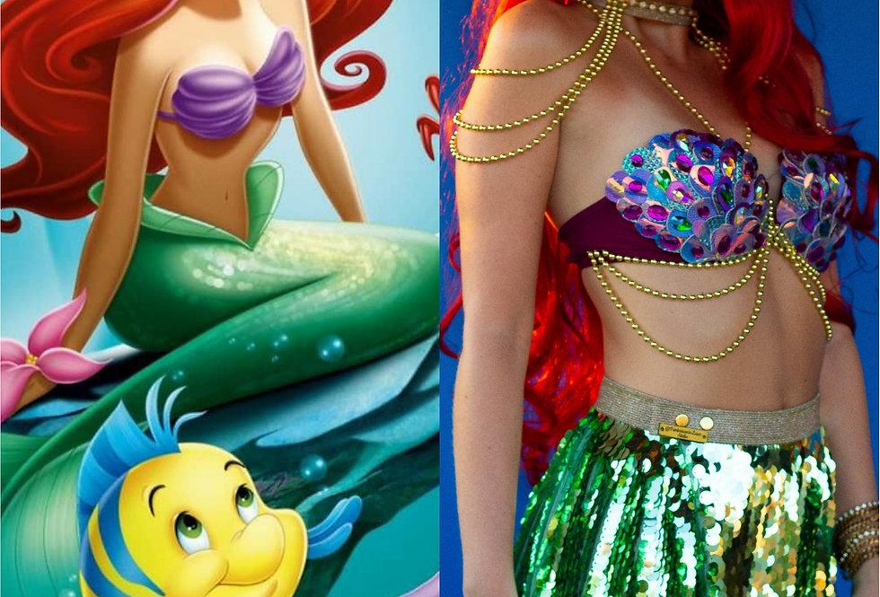 Fantasia Ariel - A Pequena Sereia