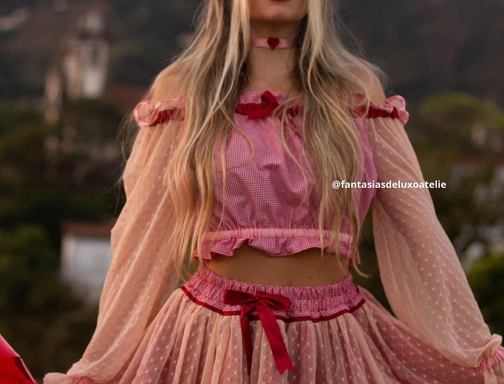 Caipira Princess (sem decote)