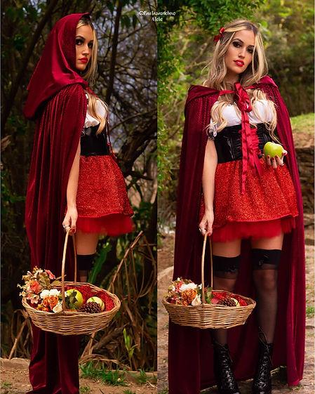 fantasia chapeuzinho vermelho - fantasia feminina halloween - fantasia de chapeuzinho - chapeuzinho vermelho - atelie de fantasias