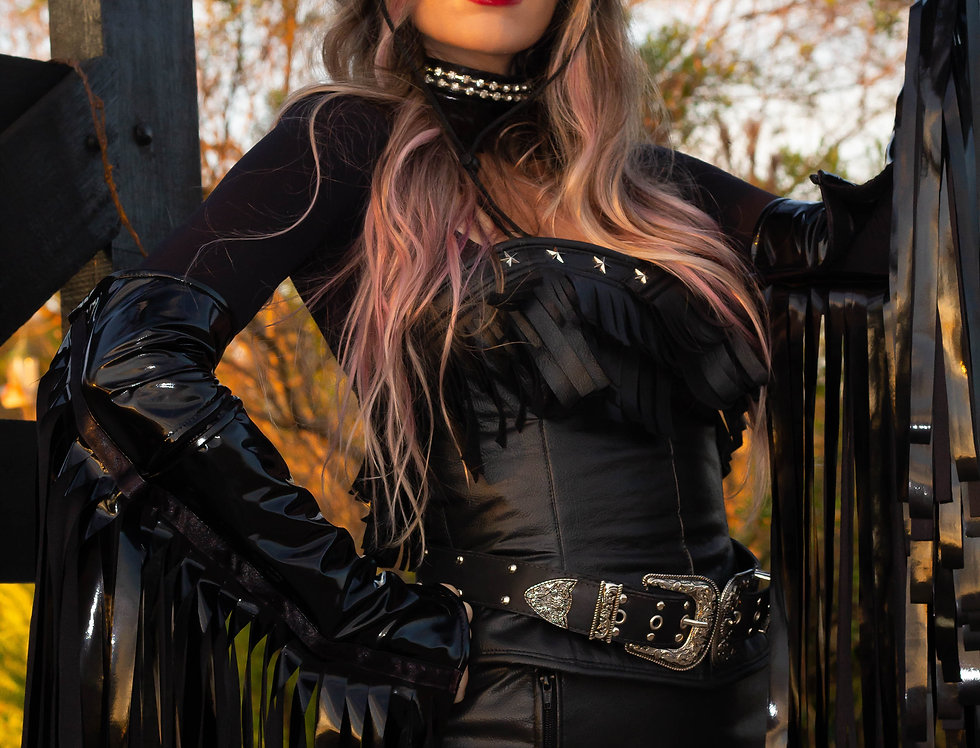 Look Rainha do Rodeio c/cinto - Cowgirl