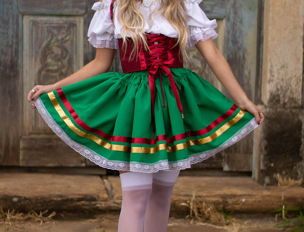 Conjunto Oktoberfest - Traje Alemã (Completa)