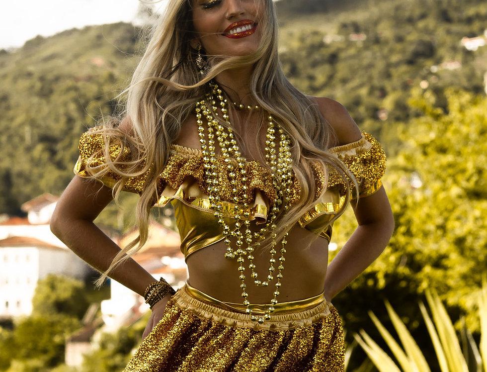 Fantasia Sol de Carnaval ( versão saia)
