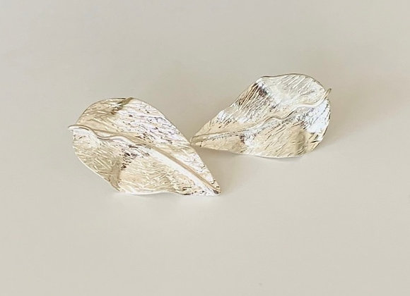 Caribbean Leaves Earrings (silver)