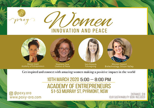 Flyer-Women-innovation-and-peace-HORIZON