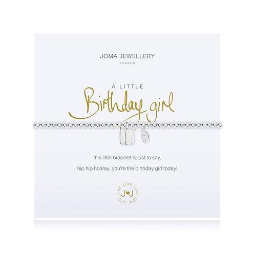 A Little 'Birthday Girl' Bracelet