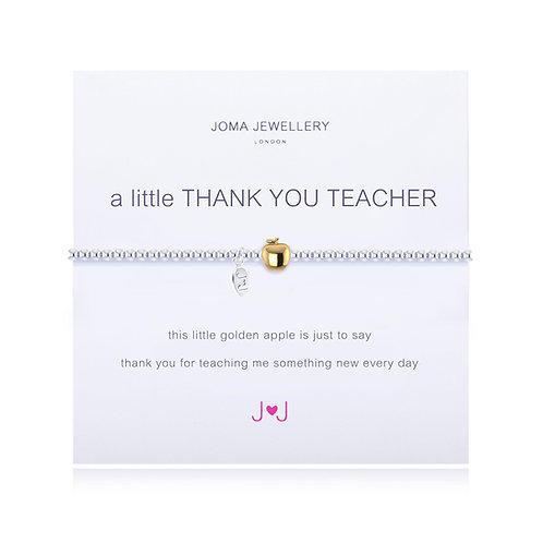 A Little 'Thank You Teacher' Bracelet