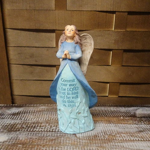 Commit Your Way Angel Ornament