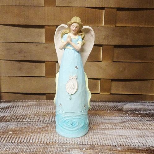 Ocean Shell Angel Ornament