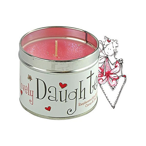 Tracey Russell Occasion Candle - Lovely Daughter