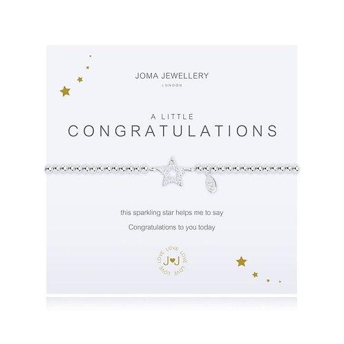 A Little 'Congratulations' Bracelet