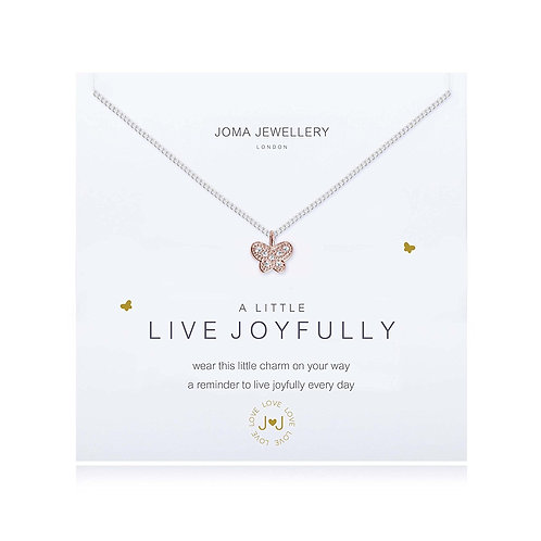 A Little 'Live Joyfully' Bracelet