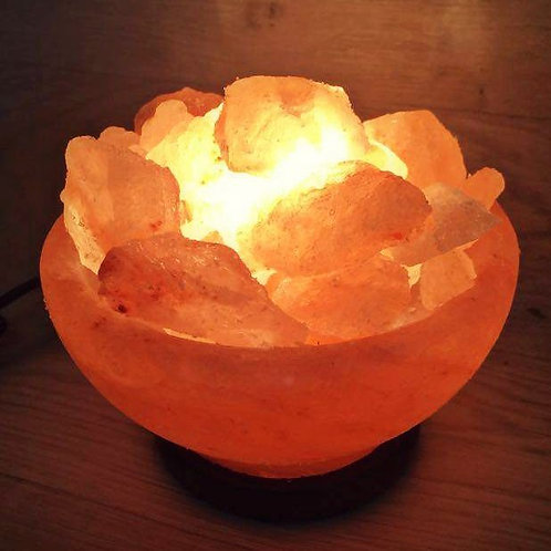 Himalayan Therapeutic Salt Fire Bowl - 3kg