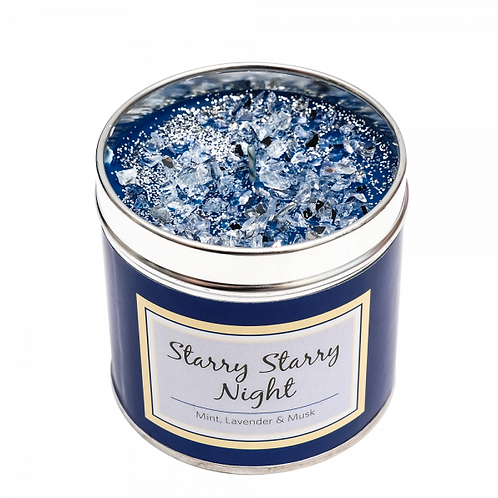 Starry Starry Night - Spearmint with hints of orange, lily, patchouli & musk