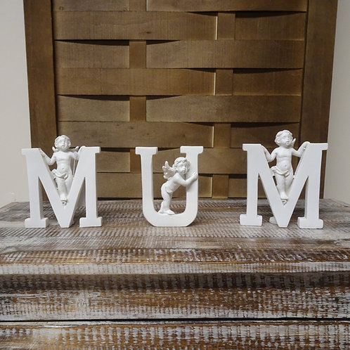 Mum Individual Letters Ornament