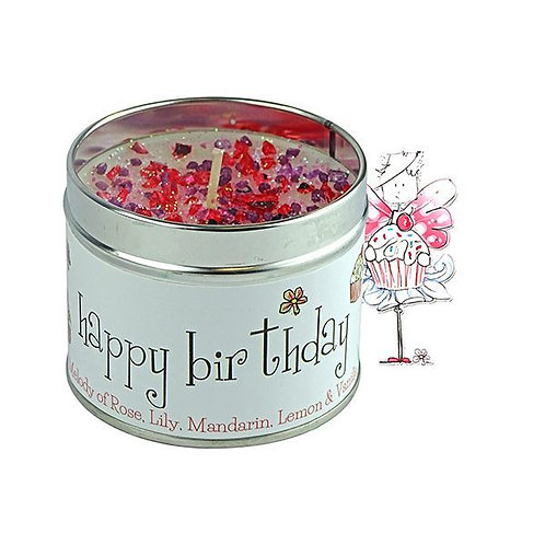 Tracey Russell Occasion Candle - Happy Birthday