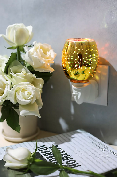 Gold Fireworks 3D Plug in Warmer