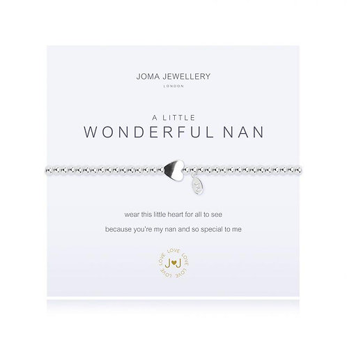 A Little 'Wonderful Nan' Bracelet