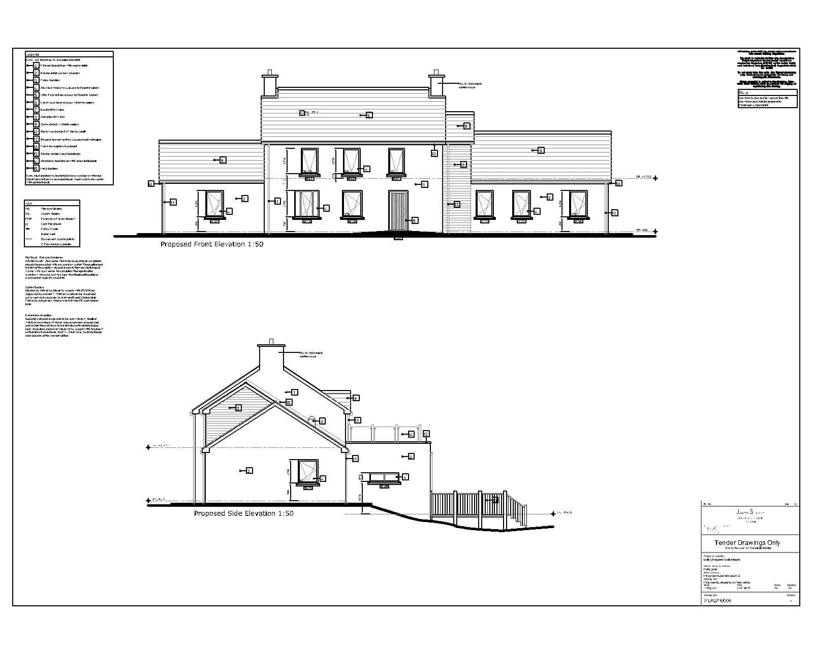 Elevations Example