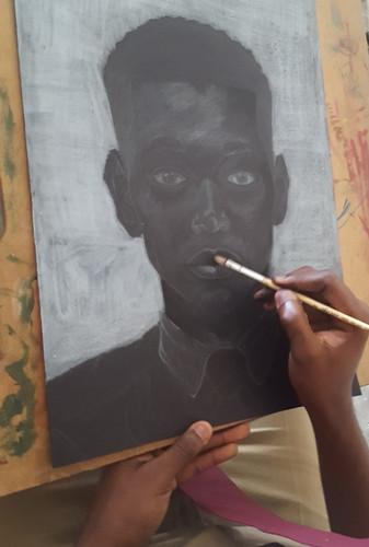 Pretty Black Boy Prgress