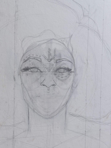 Intial Sketch