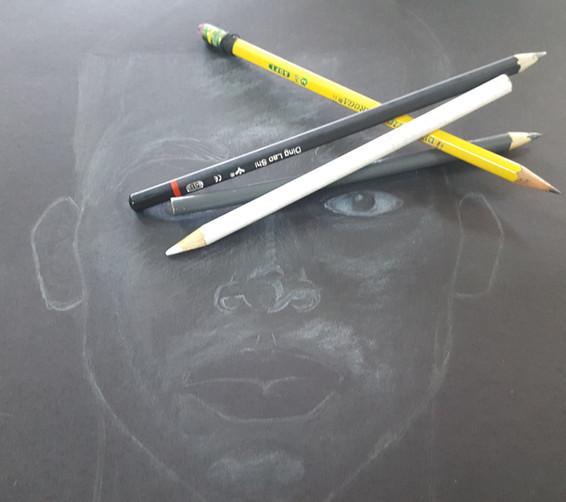 Pretty Black Boy Sketch