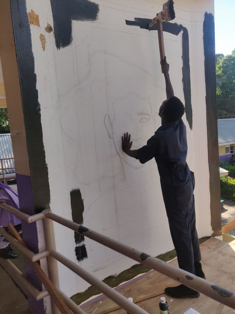 Sule painting rough borders