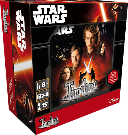 Timeline Star Wars Episode 1 to 3 -  Asmodee