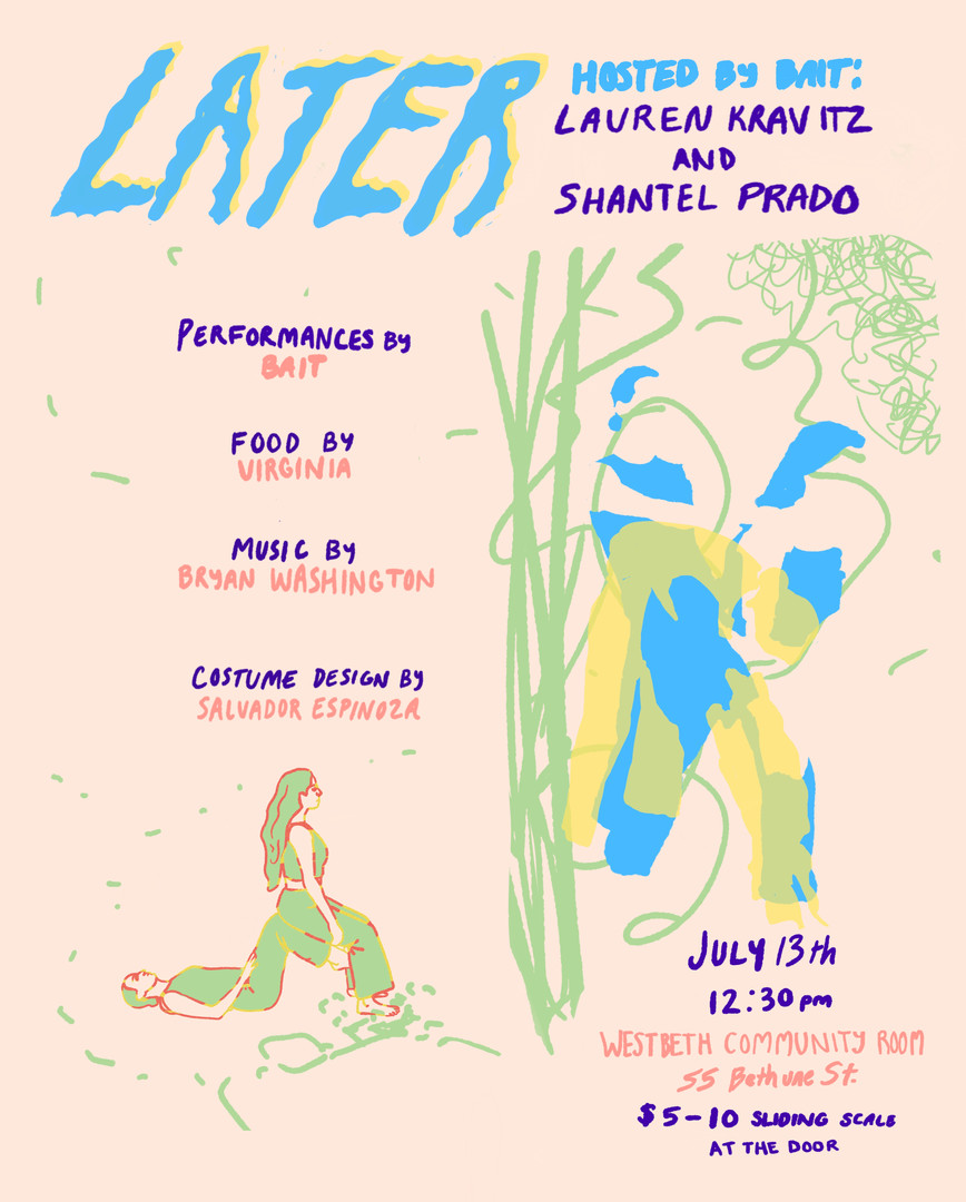 """""""Later"""" flyer 1"""