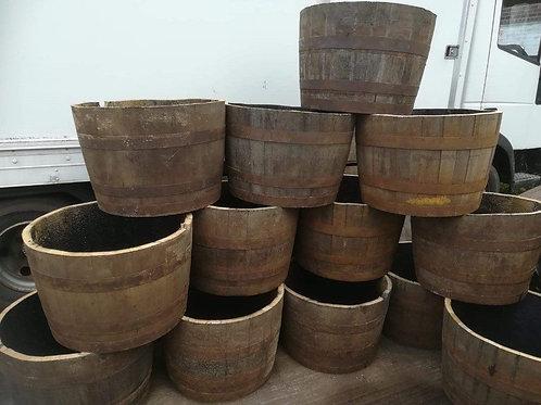 Half Oak Barrels