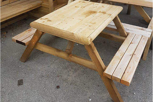 Rough Sawn With Plained Seats