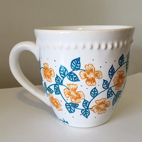 copia de tazas flores naranjas