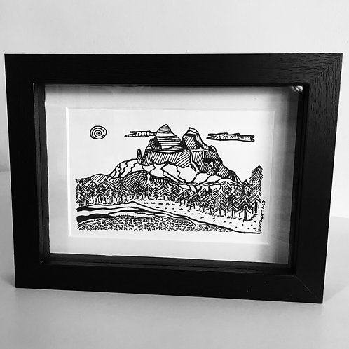 cuadros montaña