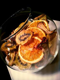 Frutta essiccata.