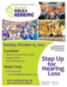 Walk 4 Hearing Event Flier