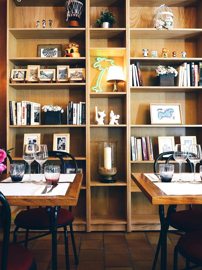 La Salle à Manger / Bibliothèque