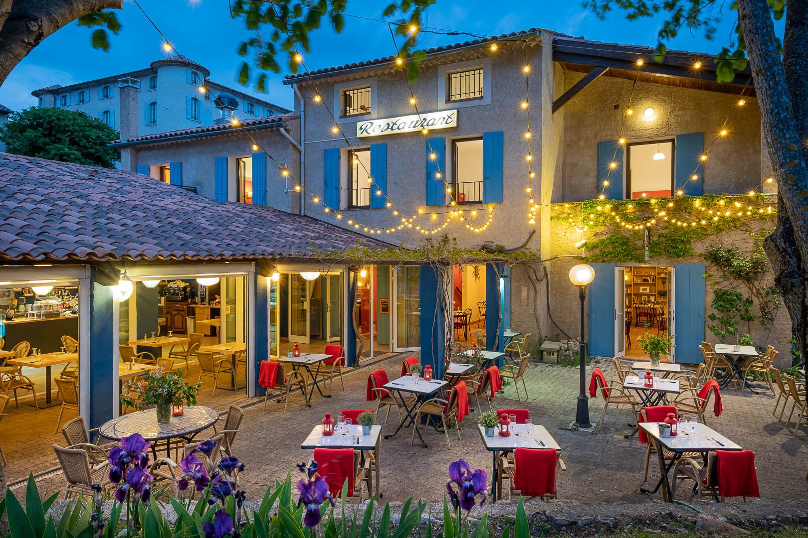 Terrasse du restaurant Le Styx