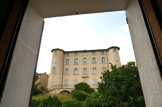 Vue depuis La Villa, Hotel Le Provence
