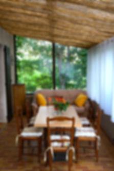 Veranda de La Villa, Hotel Le Provence