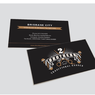 2 brothers business cards