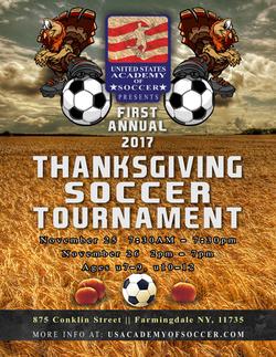 Thanksgiving Tournament Flyer
