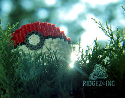 I started making #perler #pokeballs and I thought practicing on my #photography skills would be a go