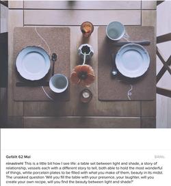 Tischweisheit