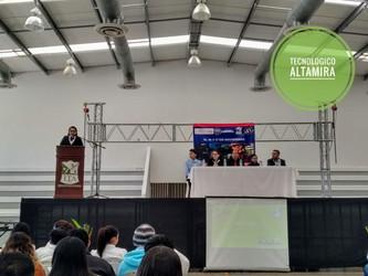 Jornadas Tecnológicas de Ingeniería Industrial en el TecNM campus Altamira