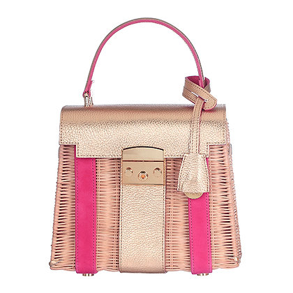 MULTICOLOR PINK / GOLD  JUNGLE BAG