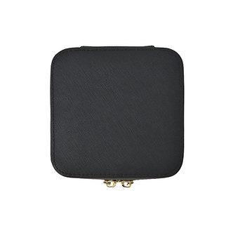 Saffiano Mini Jewelry Case
