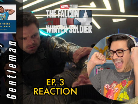 THE FALCON & THE WINTER SOLDIER EP. 3 REACTION VIDEO